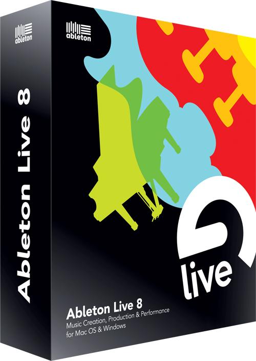 Ableton/エイブルトン Live8 DAWソフトウェア