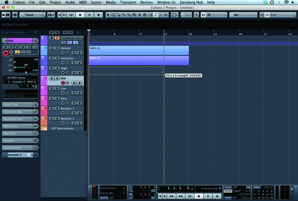 Cubase Tutorial: Become a Power User: Part 1 - Advanced Project