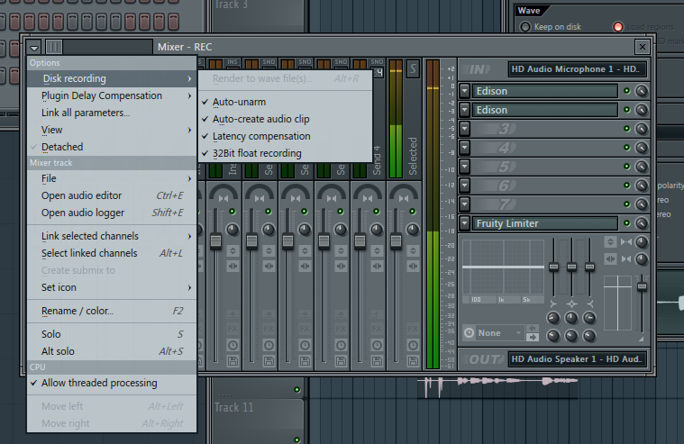 FL Studio Tutorial: Become A Power User 4 - Audio Recording