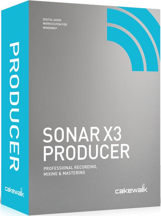 SONARX3 Producer 3DBox نرم افزار سونار x3