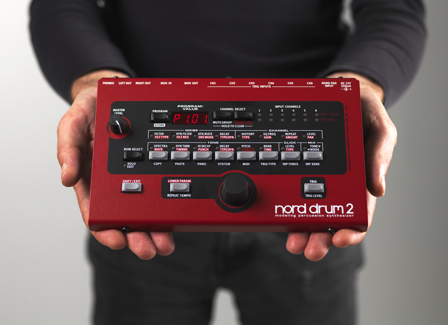 MUFF WIGGLER :: View topic - Nord Drum 2