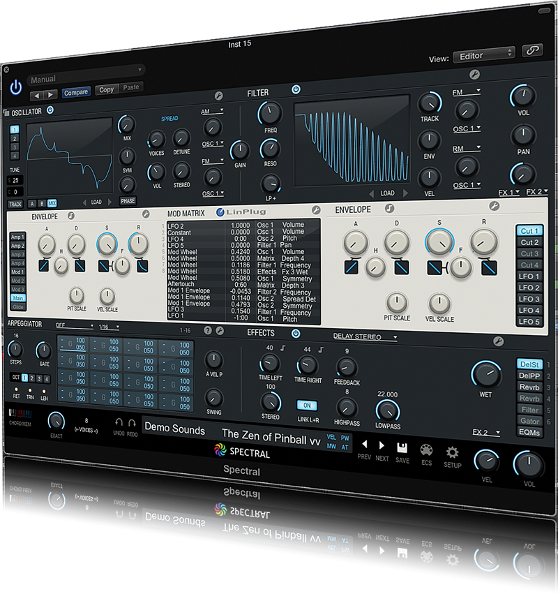 Linplug Spectral Review Musictech