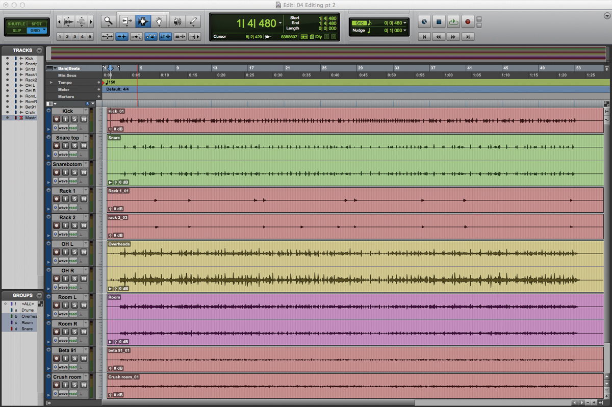 Pro Tools Tutorial: Become a Power User Part 4 - Blending Audio and