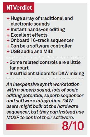 Yamaha MOXF6 Review - MusicTech