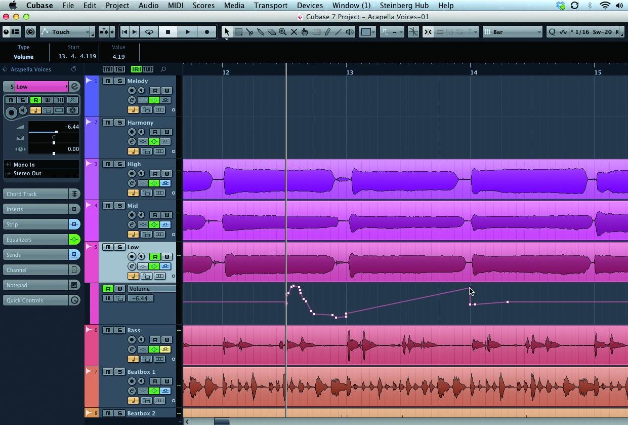 cubase tutorial become a power user part 7 mixconsole musictech. Black Bedroom Furniture Sets. Home Design Ideas