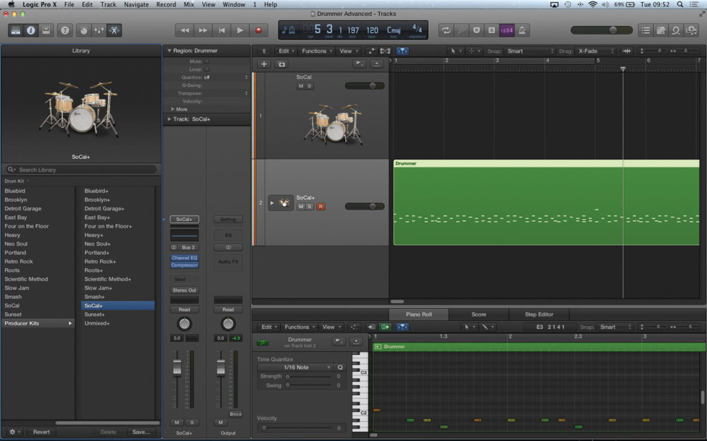 Logic Pro X Tutorial: Become a Power User Part 6 - Using