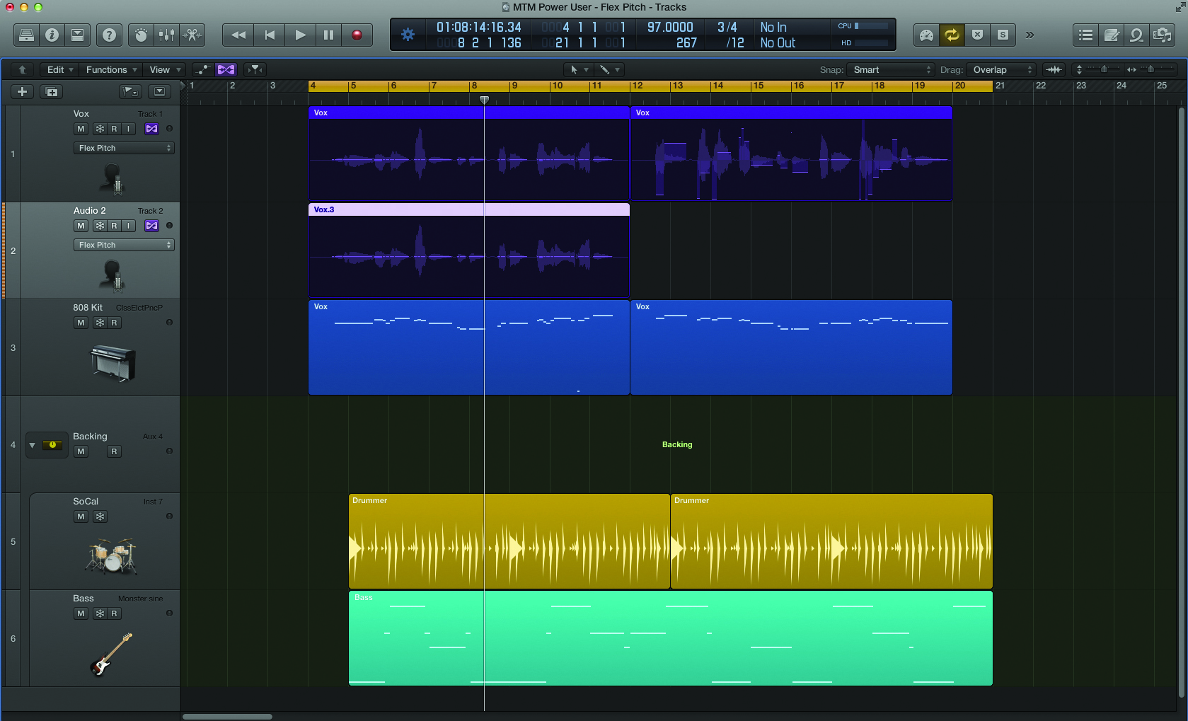 logic pro x tutorial become a power user part 8 perfecting vocals with flex pitch musictech. Black Bedroom Furniture Sets. Home Design Ideas