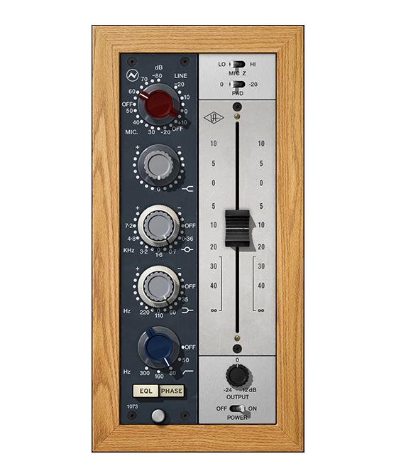 Universal Audio Release Neve 1073 Plugin Collection - MusicTech