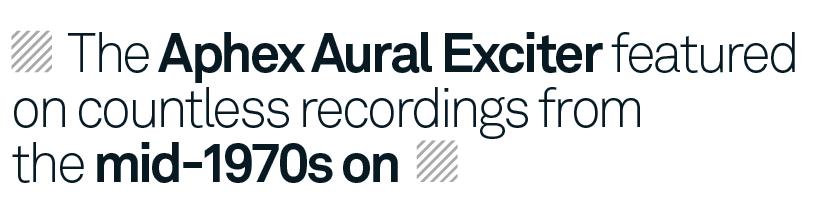 Studio Icons: Aphex Aural Exciter - MusicTech