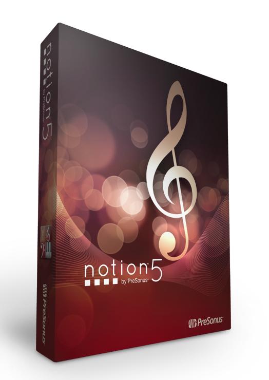 Presonus Notion 5 Review Musictech