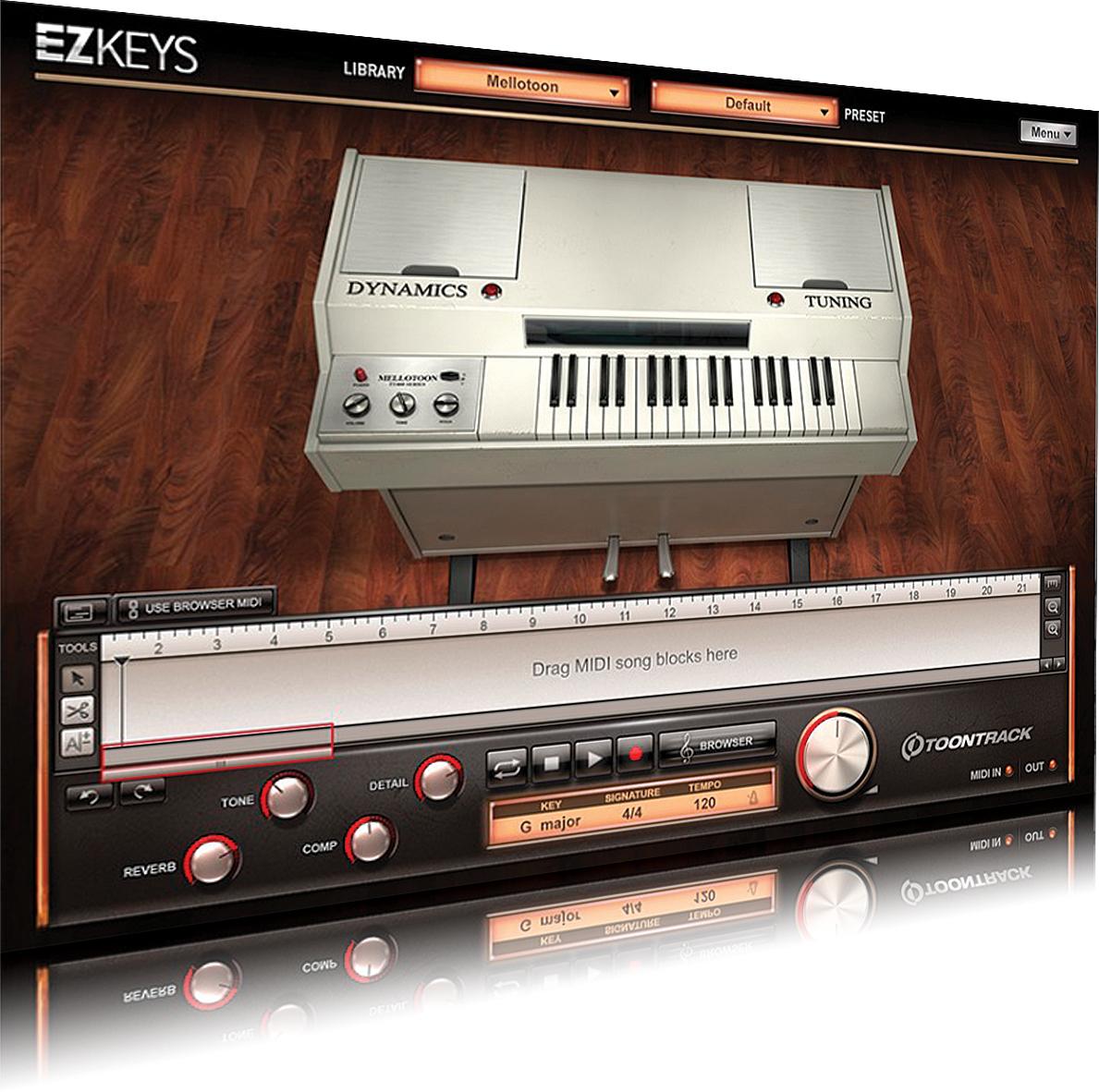 ezkeys studio one