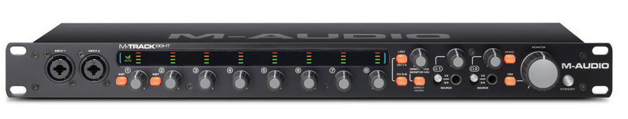 M-Audio M-Track Eight Review - MusicTech