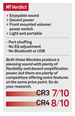 mackie cr 4 test