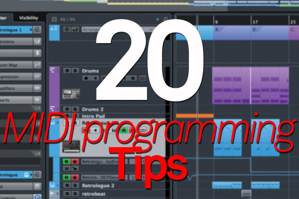 20 MIDI Programming Tips