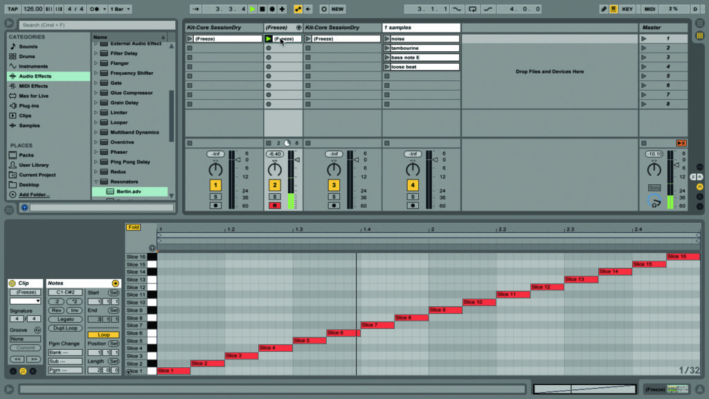 how to draw beats in ableton live