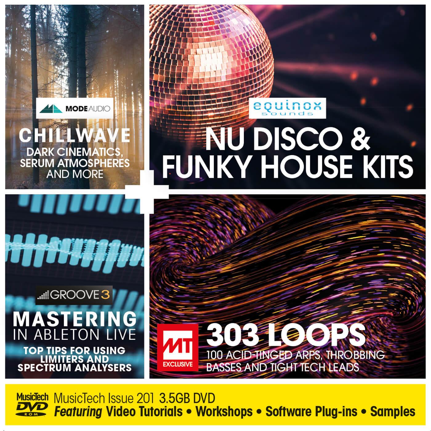 MusicTech Issue 201 DVD