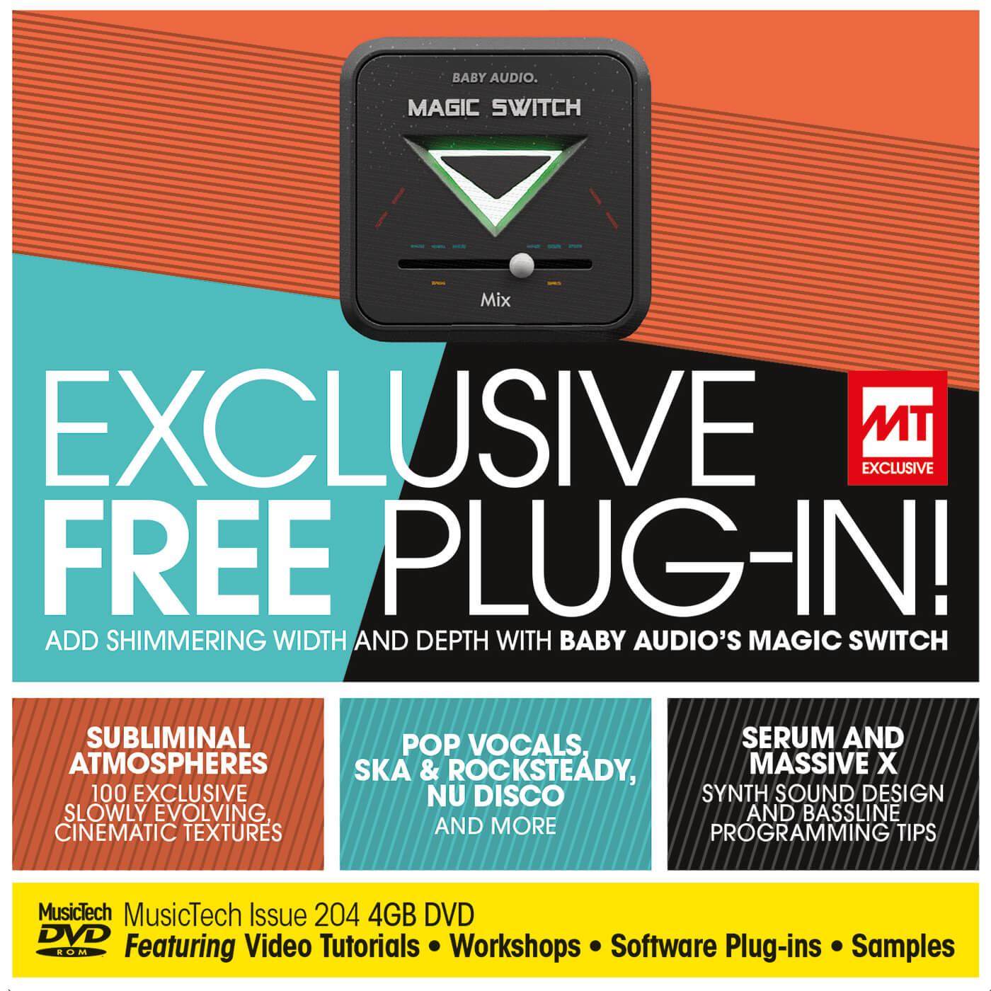 MusicTech 204 DVD cover