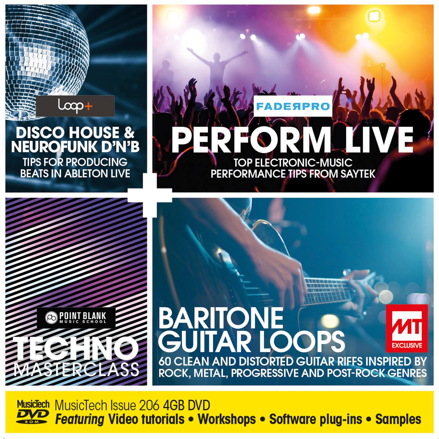 MusicTech issue 206 DVD