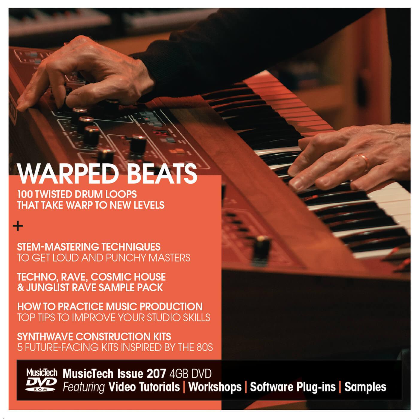 MusicTech issue 207 DVD