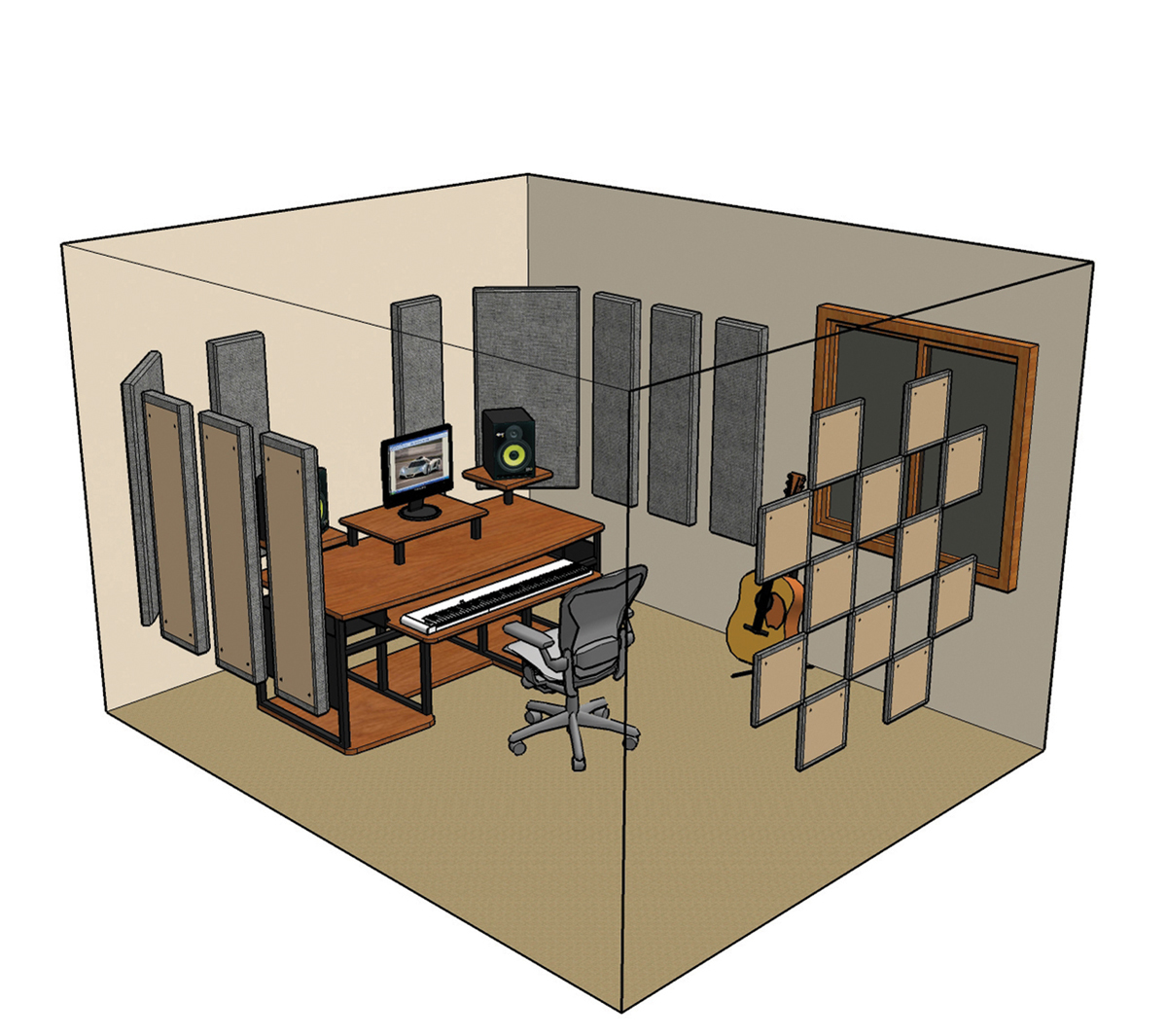 the musictech guide to acoustics. Black Bedroom Furniture Sets. Home Design Ideas