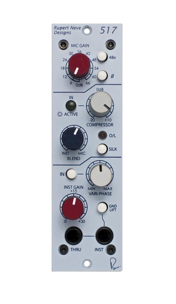 Rupert Neve 511 and 517 Modules Review - MusicTech