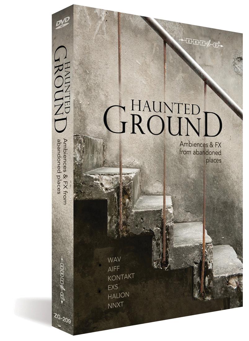 Zero G Haunted Ground 1