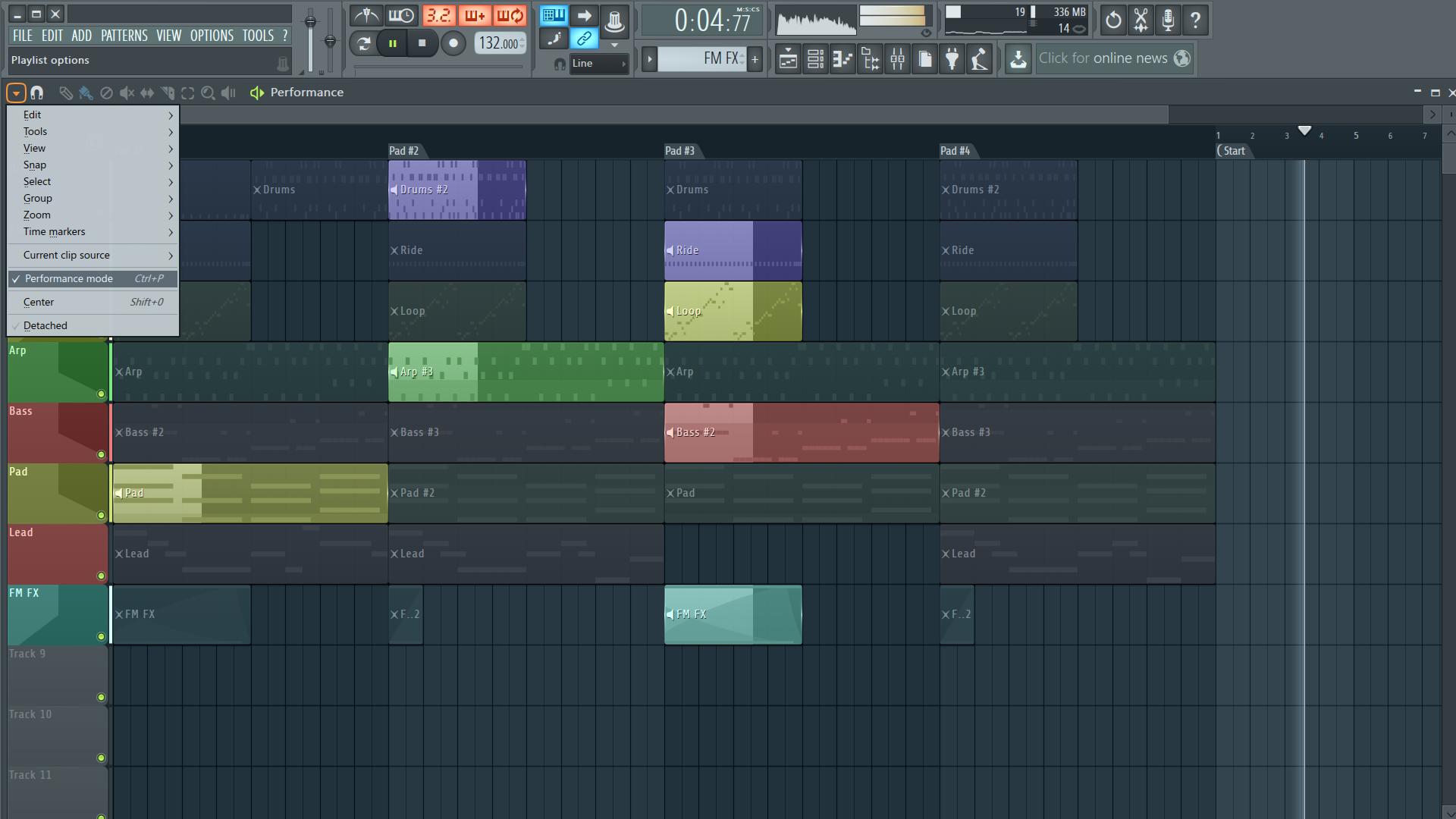 Fl Studio Tutorial Beat Juggling With Performance Mode
