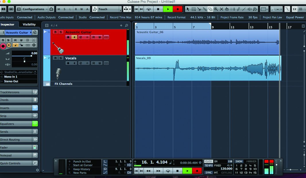 Cubase Tutorial: Recording Instruments Part One - Step by
