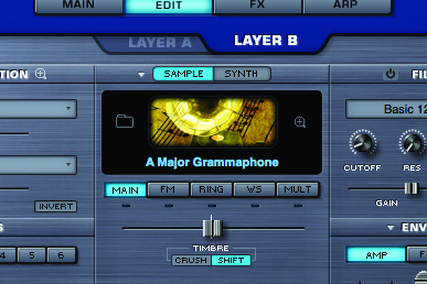 how to add synths to logic