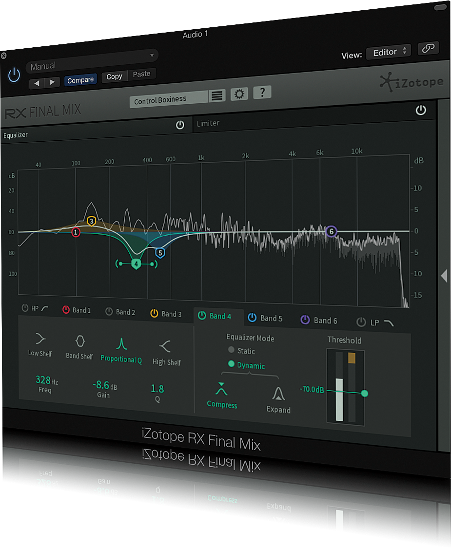 izotope rx loudness control mac
