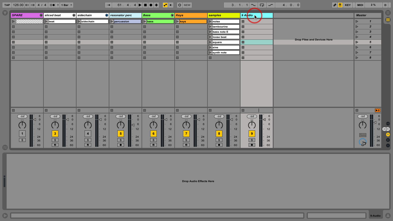 how to go to ableton preferences