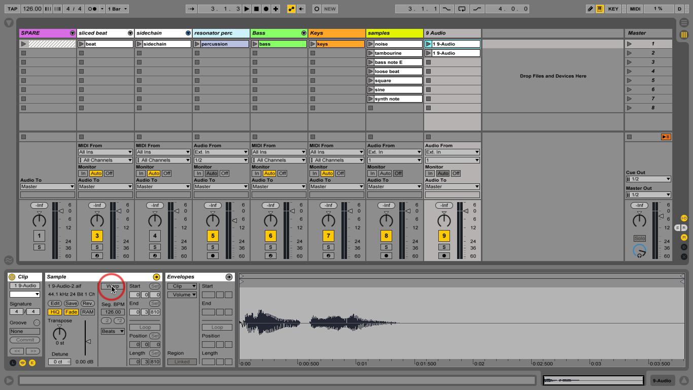 Ableton Tutorial - Importing Audio into Ableton - YouTube