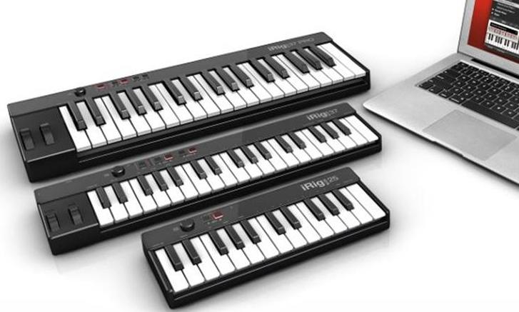iRig Keys USB Series Revealed - MusicTech