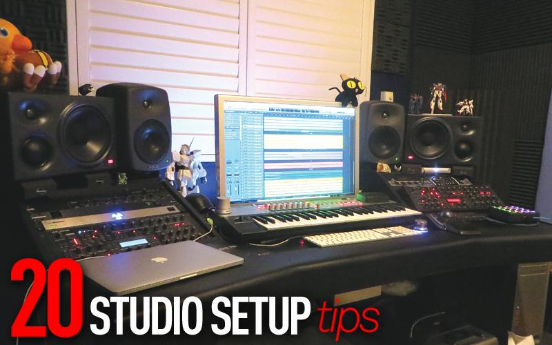 studio setup tips