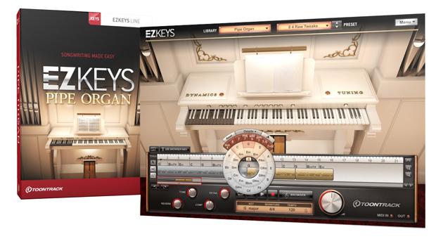 Toontrack EZKeys Pipe Organ