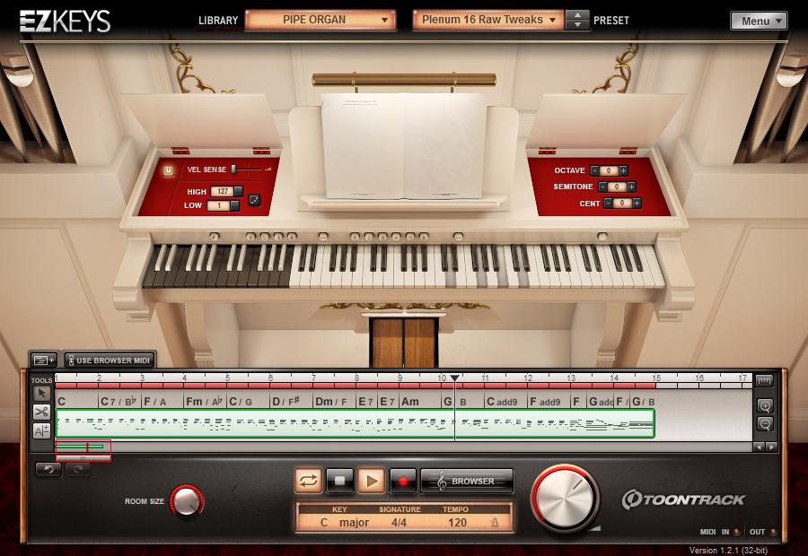 Toontrack EZKeys Pipe Organ Review