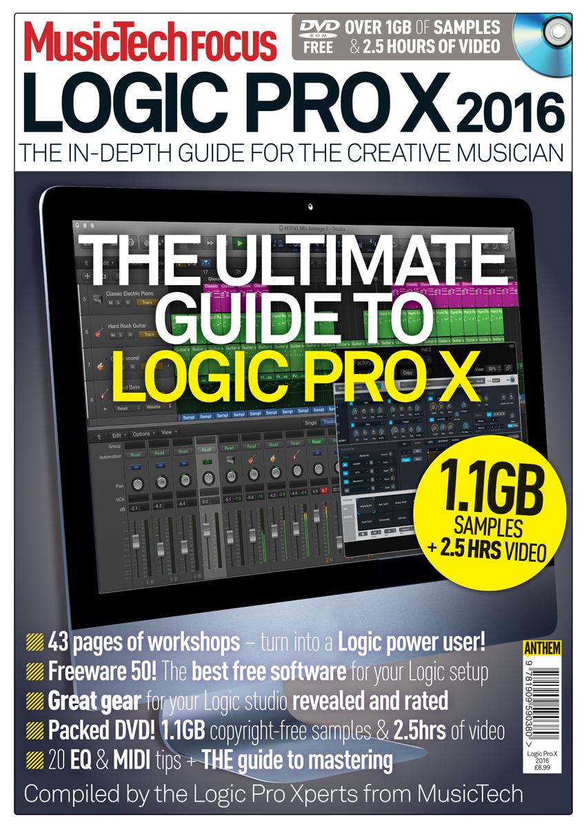 MusicTech Focus - Logic Pro X 2016