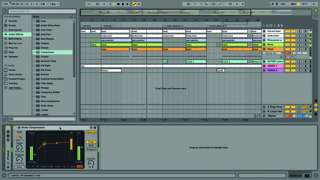 Ableton live tutorial final tweaks step by step musictech - Difference between ableton live lite and full version ...