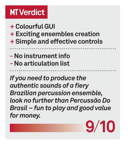 Sonokinetic Percussao Do Brasil Review - MusicTech