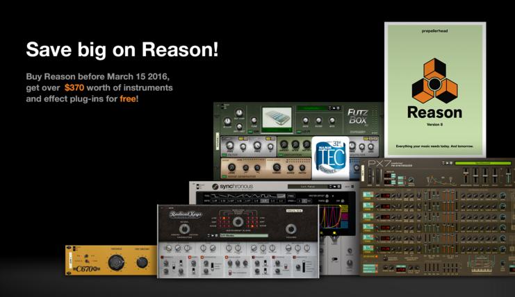 reason 8 free  full version