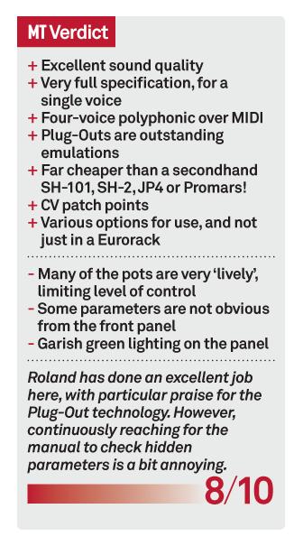 Roland Aira System 1m V1 2 Review