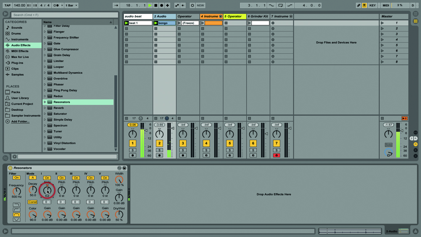 Ableton Live Tutorial: Pitch and Transposition - Step by Step