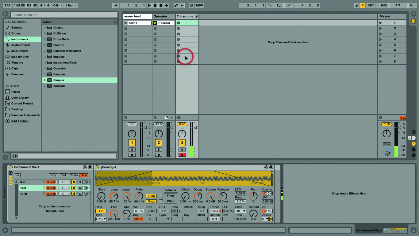 Ableton Live Tutorial Pitch And Transposition