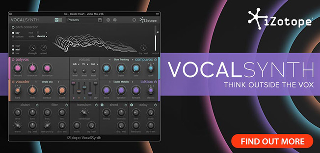 iZotope Release VocalSynth - MusicTech