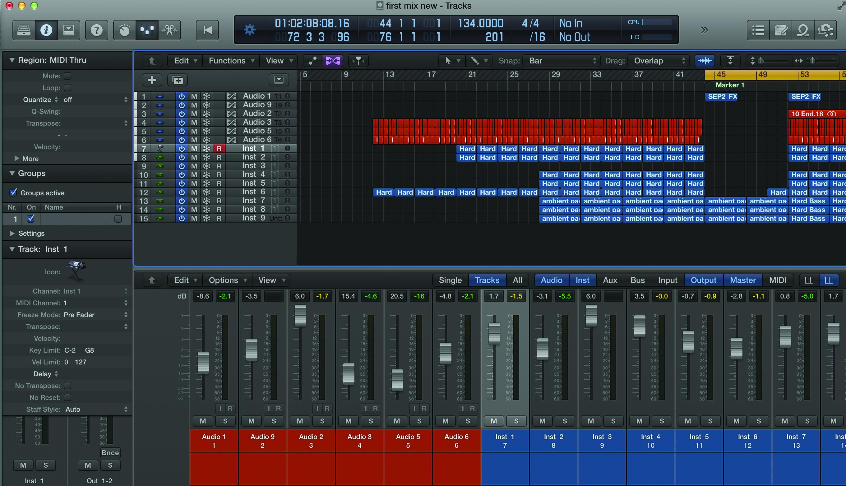 Logic Pro X Genres