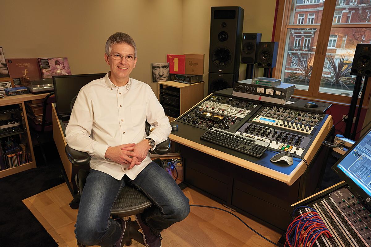Miles Showell In-studio