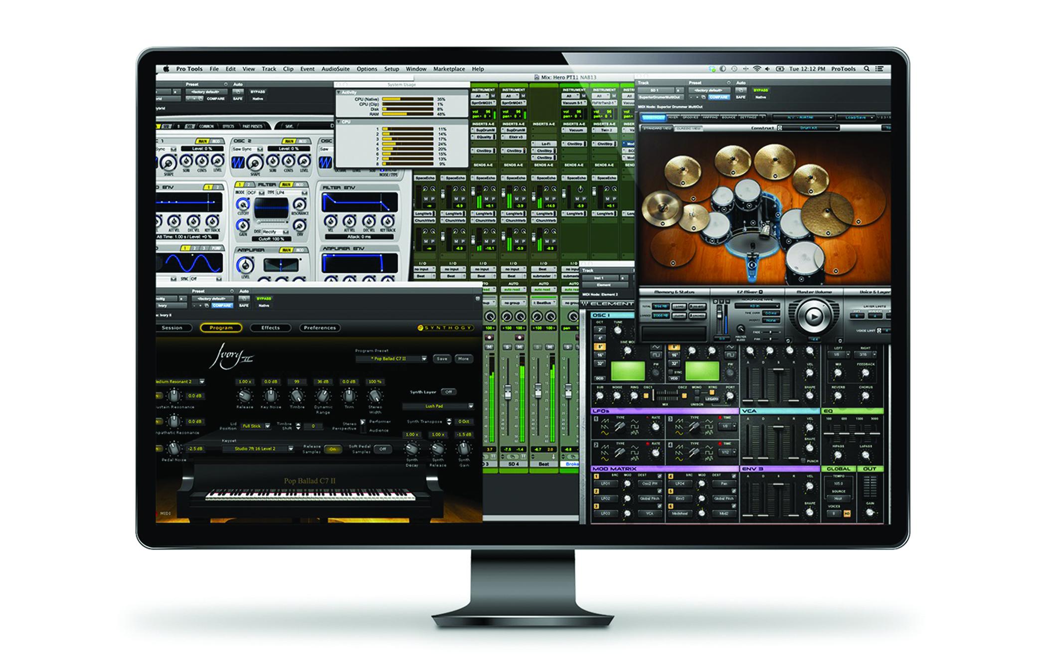 Avid pro tools hd for macbook pro