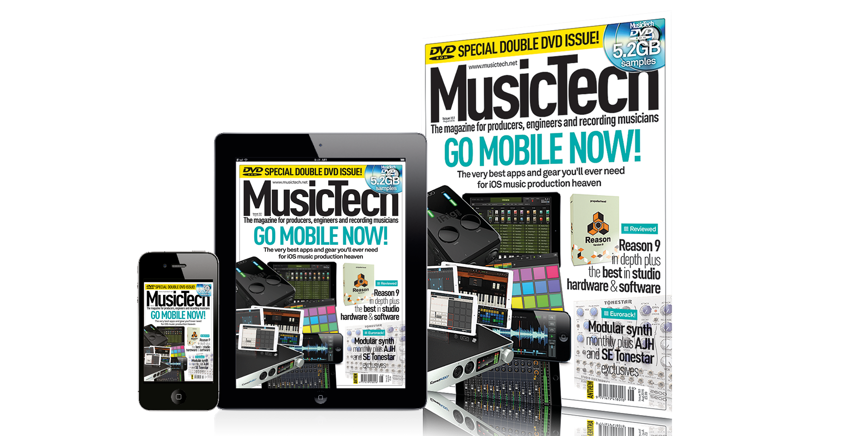 musictech magazine issue 161 go mobile now. Black Bedroom Furniture Sets. Home Design Ideas