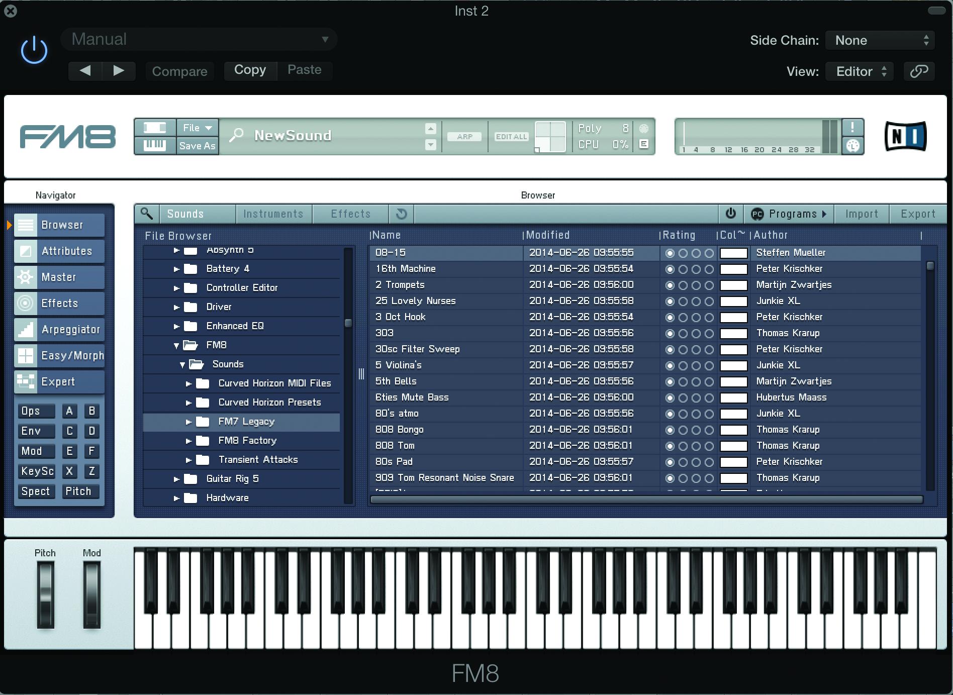 Soft Synths FM8