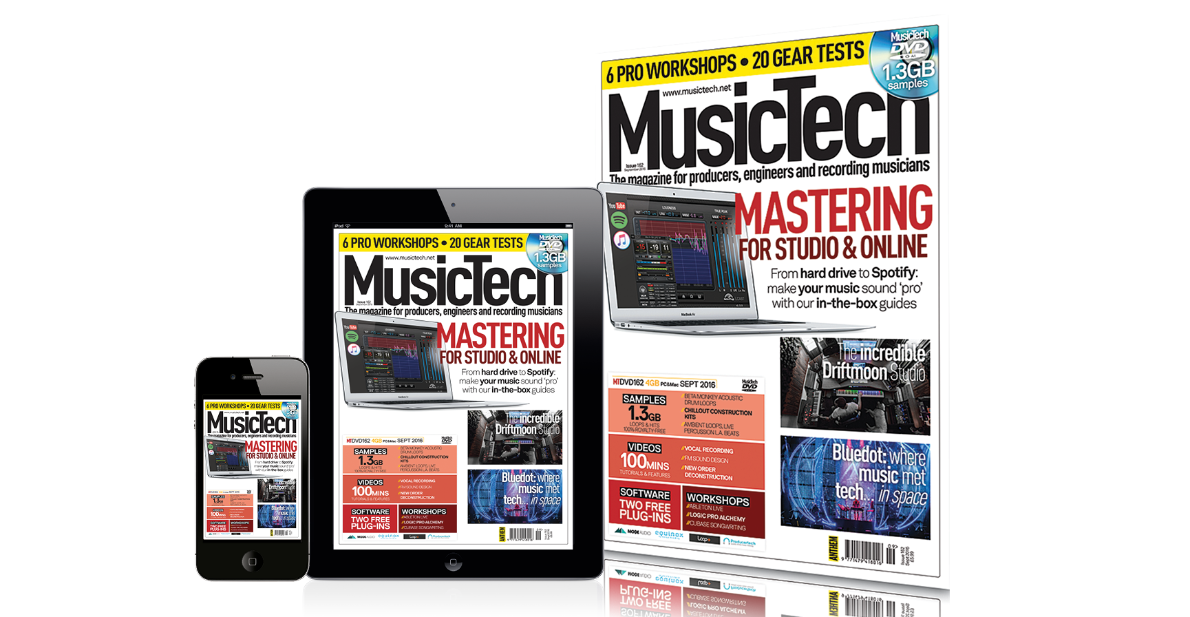 musictech magazine issue 162 mastering for studio online. Black Bedroom Furniture Sets. Home Design Ideas